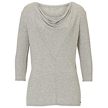 Buy Betty & Co. Tunic Top, Silver Melange Online at johnlewis.com
