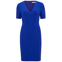 Buy Gina Bacconi Stretch Moss Crepe Dress, Royal Blue Online at johnlewis.com