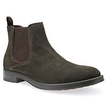 Buy Geox Blade Chelsea Boots, Mud Online at johnlewis.com