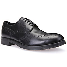 Buy Geox Blade Brogues, Black Online at johnlewis.com