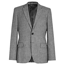 Buy Reiss Walsh Mottled Modern Fit Blazer, Charcoal Online at johnlewis.com
