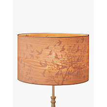 Buy John Lewis Flock Birds Lampshade, Wood/Grey Online at johnlewis.com