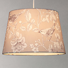 Buy John Lewis Nightingale Taper Lampshade Online at johnlewis.com