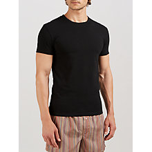 Buy Paul Smith Cotton Lounge T-Shirt, Black Online at johnlewis.com