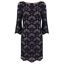 Buy Mint Velvet Lace Sixties Dress, Blue Online at johnlewis.com