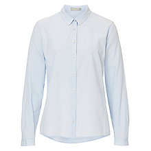 Buy Betty & Co. Cotton Shirt, Arctic Ice Online at johnlewis.com