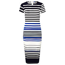 Buy Sugarhill Boutique Electra Stripe Dress, Blue Online at johnlewis.com