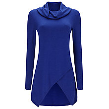 Buy Phase Eight Tara Asymmetric Top, Cobalt Online at johnlewis.com