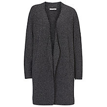 Buy Betty & Co. Long Cardigan, Dark Blue/White Online at johnlewis.com