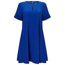 Buy Phase Eight Zoe Swing Dress, Cobalt Online at johnlewis.com