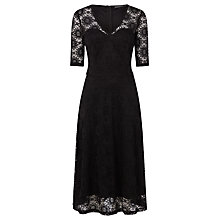 Buy Sugarhill Boutique Imelda Lace Midi Dress, Black Online at johnlewis.com