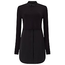 Buy Phase Eight Melita Tunic Top, Black Online at johnlewis.com
