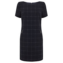 Buy Mint Velvet Check Dress, Blue Online at johnlewis.com