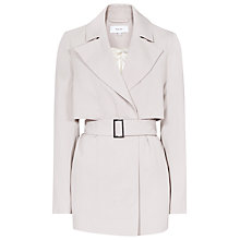 Buy Reiss Vance Cropped Mac, Cloud Online at johnlewis.com
