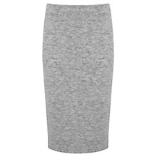 Buy Mint Velvet Knitted Tube Skirt, Grey Online at johnlewis.com