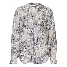 Buy Betty & Co. Marble Blouse, Nature-Grey Online at johnlewis.com
