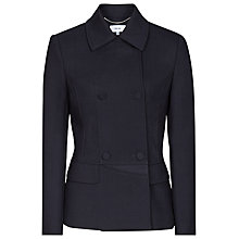 Buy Reiss Garner Double Breasted Jacket, Night Navy Online at johnlewis.com