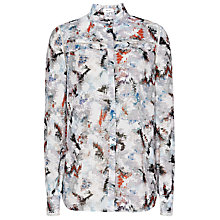 Buy Reiss Frost Blouse, Multi Online at johnlewis.com