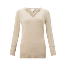 Buy East Notch Neck Jumper Online at johnlewis.com