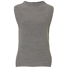 Buy Betty & Co. Sleeveless Jumper, Light Anthracite Melange Online at johnlewis.com