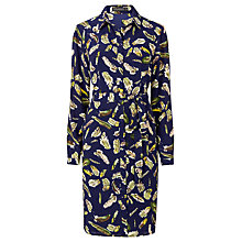 Buy Sugarhill Boutique Evelina Shirt Dress, Navy/Multi Online at johnlewis.com