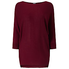 Buy Phase Eight Becca Batwing Jumper, Rust Online at johnlewis.com