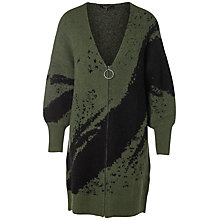 Buy Selected Femme Arin Oversized Cardigan, Thyme Online at johnlewis.com