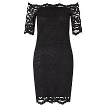 Buy Samsoe & Samsoe Nana Lace Dress, Black Online at johnlewis.com
