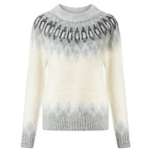 Buy Samsoe & Samsoe Vaga Fair Isle Jumper Online at johnlewis.com