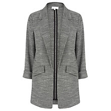 Buy Warehouse Textured Blazer, Dark Grey Online at johnlewis.com