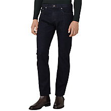 Buy Reiss Springstein Straight Leg Jeans, Indigo Online at johnlewis.com