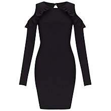 Buy Miss Selfridge Cold Shoulder Dress Online at johnlewis.com