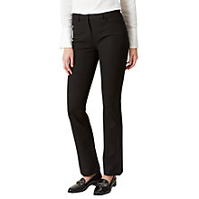 Buy Hobbs Amanda Bootleg Jeans, Black Online at johnlewis.com