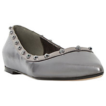 Buy Dune Halogen Studded Pumps, Pewter Online at johnlewis.com