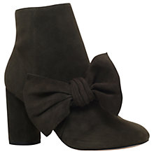 Buy KG by Kurt Geiger Rattle Bow Ankle Boots Online at johnlewis.com