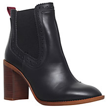 Buy KG by Kurt Geiger Safari Block Heel Ankle Boots Online at johnlewis.com