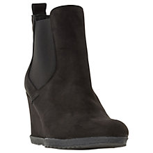 Buy Dune Phillipe Wedge Heeled Ankle Boots Online at johnlewis.com