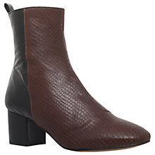 Buy KG by Kurt Geiger Snooze Block Heeled Ankle Boots Online at johnlewis.com