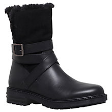 Buy KG by Kurt Geiger Soldier Ankle Boots, Black Online at johnlewis.com
