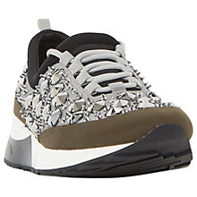 Buy Dune Enigma Embellished Trainers Online at johnlewis.com
