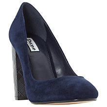 Buy Dune Annisto Block Heeled Court Shoes Online at johnlewis.com