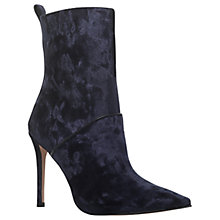 Buy KG by Kurt Geiger Rascal Pointed Toe Stiletto Ankle Boots Online at johnlewis.com