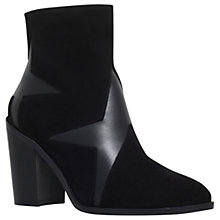 Buy KG by Kurt Geiger Skywalk Block Heeled Ankle Boots, Black Online at johnlewis.com