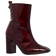 Buy KG by Kurt Geiger Strut Block Heeled Ankle Boots Online at johnlewis.com