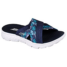 Buy Skechers On the Go 400 Cross Strap Mule Sandals, Navy Online at johnlewis.com
