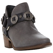 Buy Steve Madden Aces Studded Ankle Boots, Grey Online at johnlewis.com