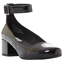 Buy Steve Madden Wails Ankle Strap Court Shoes Online at johnlewis.com