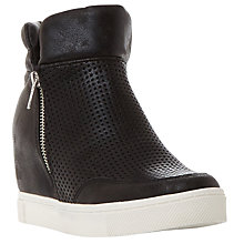 Buy Steve Madden Linqs-P Concealed  Wedge Heeled Trainers Online at johnlewis.com