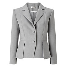 Buy Precis Petite Eliza Tailored Jacket, Light Grey Online at johnlewis.com