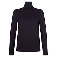Buy Hobbs Mischa Roll Neck Top Online at johnlewis.com